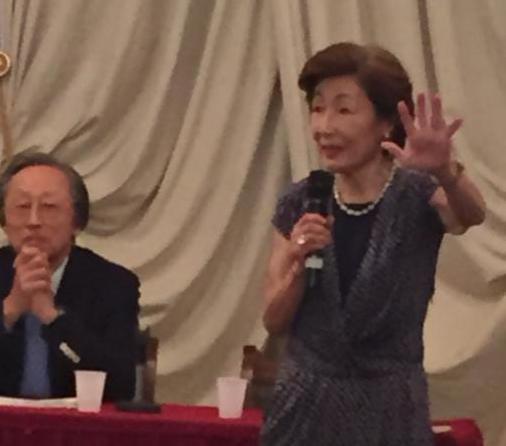 Hiroo and Masami Saionji