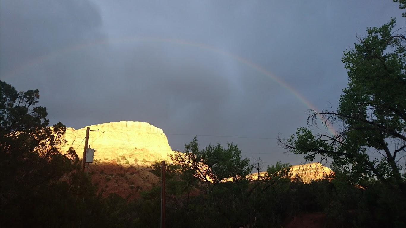 Mesa with Rainbow
