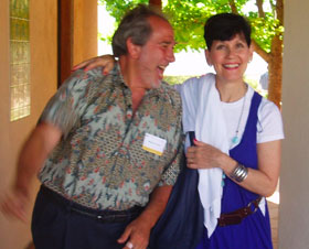 Bruce Lipton & Lynne McTaggart at Evolutionary Leaders Retreat